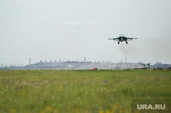 Летно-тактические учения многофункционального истребителя-бомбандировщика СУ-34 на аэродроме Шагол. Челябинск , аэродром, ввс россии, истребитель, бомбардировщик, су-34, авиационный комплекс