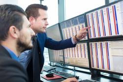 Клипарт депозитфото, фондовая биржа, инвестиции, фондовый рынок, биржевые маклеры