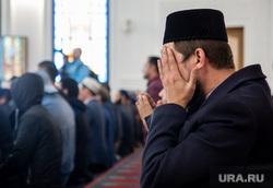 Визит в Югру Верховного муфтия Сирии Ахмада Бадр эд-Дин Хассуна, Сургут, мечеть, ислам, мусульмане, религия, вера, молитва