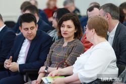 Заседание Совета по улучшению инвестиционного климата. Курган , гагарина ирина, саркисов андрей