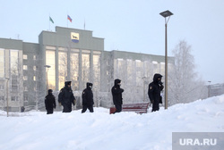 Митинг сторонников Алексея Навального. Сургут, администрация сургута, полиция