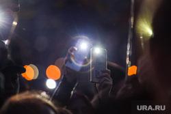 Протесты против строительства храма Св. Екатерины в сквере у театра драмы. Екатеринбург, фонарики, свет