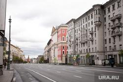 Москва во время объявленного режима самоизоляции. Москва, мэрия москвы, тверская улица, тверская 13