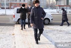 Полпред Якушев Владимир посетил проспект Мальцева. Курган, шумков вадим, якушев владимир, зима
