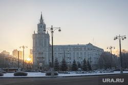 Виды Перми, зима 2020 г. Пермь., зима, гу мвд по пермскому краю, полиция, пермь, гу мвд, башня  смерти