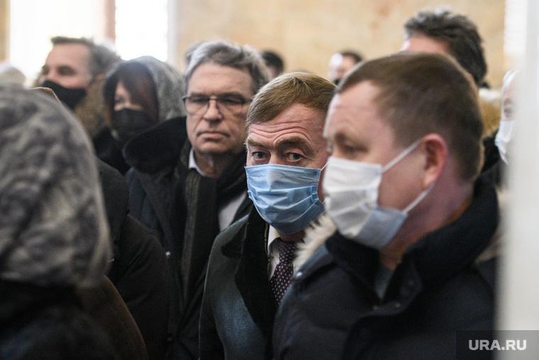 Прощание с Анатолием Кирилловым. Екатеринбург
