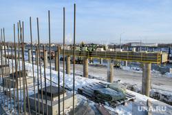 Участок строительства ЕКАД на пересечении с Челябинским трактом. Екатеринбург, строительство екад, строительство моста, строительство развязки, екатеринбургская кольцевая автодорога