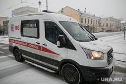 Зима. Москва, зима, скорая помощь, скорая