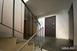 Улица Профсоюзная, дом 4а. Курган, квартира, лестничная площадка, лестничный проем