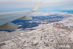 Авиапресс-тур Курган-Москва. Аэропорт Шереметьево. Курган, полет, земля, иллюминатор, крыло самолета, вид