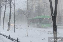 Снежный буран и непогода. Челябинск, холод, зима, буран, непогода, метель, автобус, шторм, ураган, климат, вьюга, мороз
