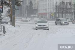 Снежный буран и непогода. Челябинск, сугроб, холод, зима, буран, непогода, метель, шторм, колея, ураган, климат, мороз, занос