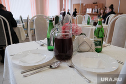 Совещание по реализации национального проекта «Образование» по УрФО. Курган, столовая, компот, кафе, напитки, еда, питание