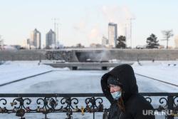 Виды Екатеринбурга, исторический сквер, зима, холода, город екатеринбург, мороз, холод, масочный режим, covid19, коронавирус, covid, ковид, пандемия коронавируса