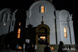 Крестный ход в Среднеуральском женском монастыре. Екатеринбург, среднеуральский женский монастырь
