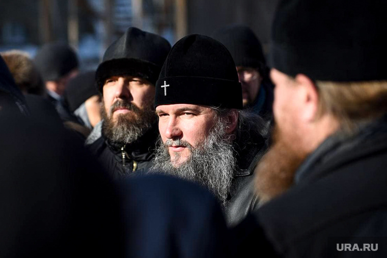 Обстановка в Среднеуральском женском монастыре. Екатеринбург