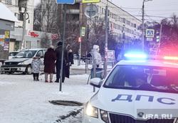 ДТП у Швейной фабрики. Челябинск, дтп, авария, логан