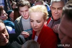 Митинг против закона о реновации Москвы. Москва, навальная юлия
