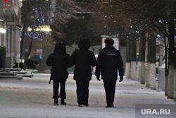 Акция с фонариками. Курган, наряд полиции, патруль полиции