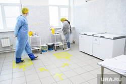 Вакцинация в поликлинике ЦГКБ №3. Екатеринбург, поликлиника, прививочный кабинет, процедурный кабинет, больница