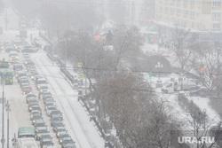 Виды Екатеринбурга, памятник свердлову, сквер, пробка, город екатеринбург