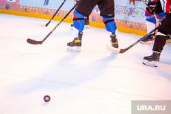 Товарищеский матч по хоккею с участием Дмитрия Махонина. Москва