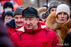 Возложение цветов к Вечному Огню. Москва, коммунисты, кпрф, рашкин валерий