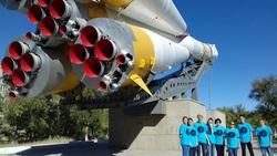 Екатеринбургские школьники на запуске космического корабля с Байконура , космический корабль, байконур