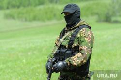 Тактико-специальное учение «Арсенал - 2018» на территории Карабашского городского округа Челябинской области, спецназ, военные, солдаты, маски-шоу, вежливые люди, армия
