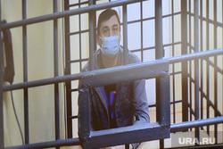 Апелляция по делу Олега Извекова в областном суде. Челябинск, сизо, клетка, тюрьма, видеоконференция, монитор, вкс, извеков олег