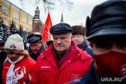 Возложение цветов к Вечному Огню. Москва, коммунисты, кпрф, кремль, зюганов геннадий