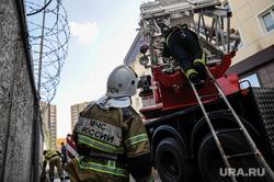 Пожар в бизнес-центре Парус. Тюмень, мчс, пожарный, пожар, тушение пожара