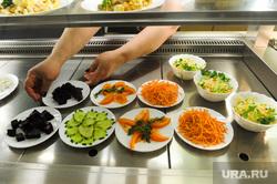 Постные блюда в столовых. Челябинск, столовая, общепит, постные салаты, еда