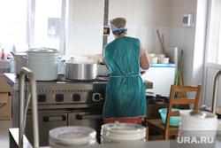 Визит врио губернатора Шумкова в Звериноголовский район Курган, школьная еда, столовая, повар, приготовление еды, школьное питание