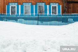 Горнолыжный комплекс «Гора Белая». Свердловская область, деревянный дом, жилой дом, деревня, село