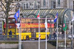 Германия. Гамбург., автобус