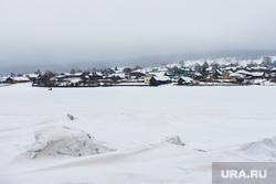 Горнолыжный комплекс «Гора Белая». Свердловская область, снег, зима, деревня, село, холод