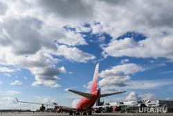 Авиапленэр в аэропорту Кольцово. Екатеринбург, аэропорт кольцово, авиакомпания россия, боинг747-400