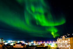 Северное сияние. Ямал. Салехард. 15 сентября 2017 г, арктика, город салехард, северное сияние, ямал