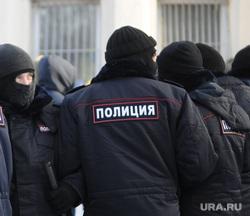 Несанкционированный митинг в поддержку оппозиционера. Челябинск, шествие, митинг, полиция