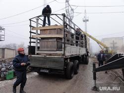 9-ый Гуманитарный конвой. Украина. Донецк. ДНР, погрузка, гуманитарный конвой, помощь