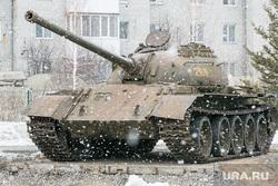 Танк Т-54. Тюмень, военная техника, танк т-54, танк, т-54