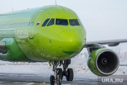 Аэропорт. Магнитогорск, S7, аэропорт, посадка, приземление, самолет