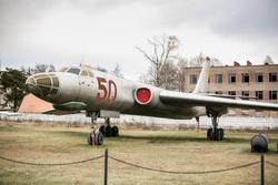 Экспонаты Центрального Музея Военно-Воздушных Сил России в Монино. Московская область, Монино, советский, барсук, тяжёлый двухмоторный реактивный многоцелевой, дальний бомбардировщик-ракетоносец, ту-16м, ввс ссср, ввс кнр