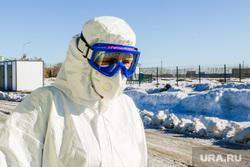 Областной инфекционный центр. Строительство второй очереди больницы. Челябинск, эпидемия, инфекция, медики, врачи, защитная одежда, больница, коронавирус, сиз, covid, ковид, инфекционная больница, эпидемиологи
