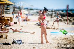 Отдых на полуострове Крым. Феодосия , девушка, море, крым, жара, отпуск, лето, пляж, отдых