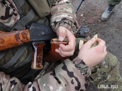 Фотографии с передовой. Украина. ДНР, автомат