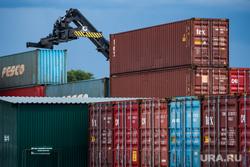 Прибытие первых крупных поставок плодоовощной продукции из Узбекистана. Екатеринбург, контейнер, контейнеры, контейнерные перевозки, грузопере
