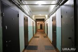 Дома по программе реновации. Екатеринбург, коридор общежития