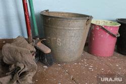 ОНФ в Введенке. Курган, швабра, уборка, ведро, ремонт, субботник